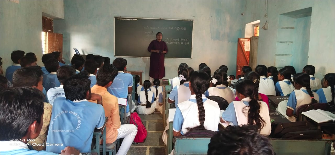 Training given to children about child rights regarding education, child marriages and child labour