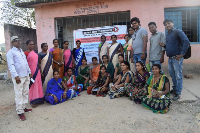 Capacity Building of project staff and Anganwadi workers on ECE